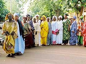 マリ共和国のフェスティバル